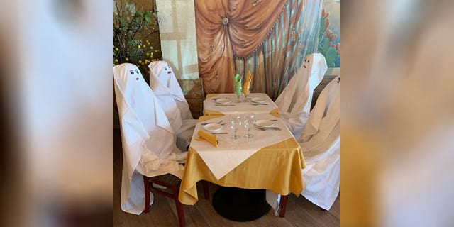 Luigi Cutraro's son, Luca, spoke with Fox News and said that the ghosts have been met with a very positive response.