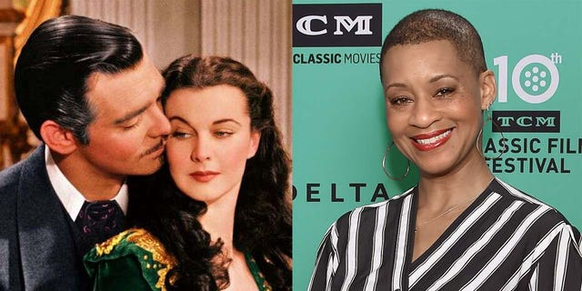 Jacqueline Stewart(right) provides contextual commentary for 'Gone With the Wind' on HBO Max.