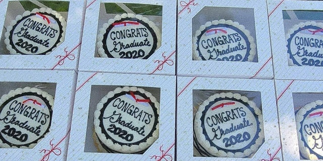 Bill Hansich, owner of Hanisch Bakery and Coffee Shop, wanted to do something sweet for the senior students graduating from Red Wing High School this year.
