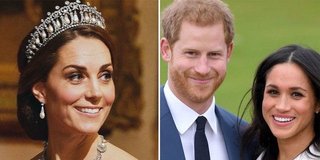 A new book claims that Kate Middleton warned Prince Harry to be cautious when first dating Meghan Markle.