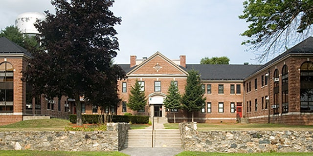 Building 5 on the grounds of the Bedford Veterans Affairs Medical Center in Massachusetts.