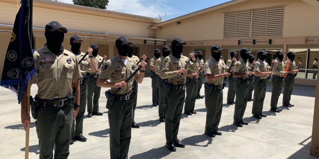 TheSan Bernardino County Sheriff's Department has temporarily has temporarily suspended in-person classes after 33 cadets tested positive for the coronavirus.