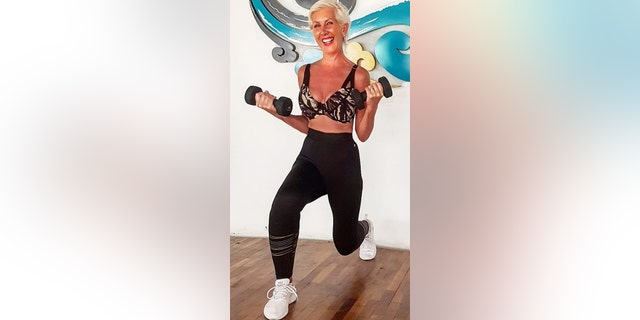 The former model said she fell in love with fitness about 30 years ago and has never looked back.