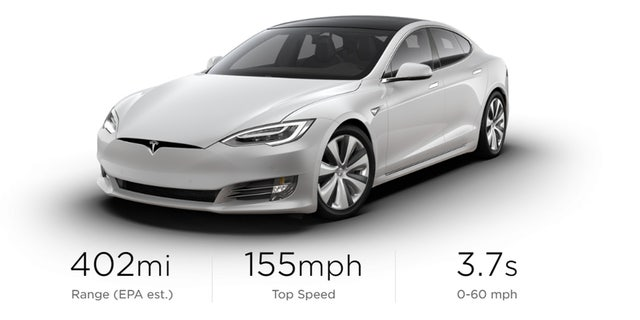 Tesla Model S manages 647 km range