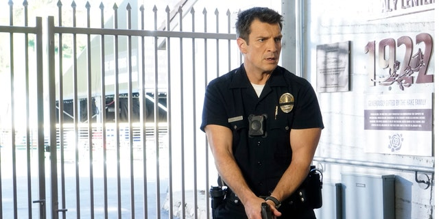Series star Nathan Fillion was reportedly on the scene of 'The Rookie' cop drama when production was interrupted by gunfire near its filming location on Thursday in Los Angeles, Calif.