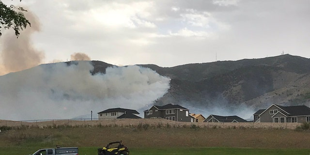 The Knolls Fire erupted on Sunday afternoon.