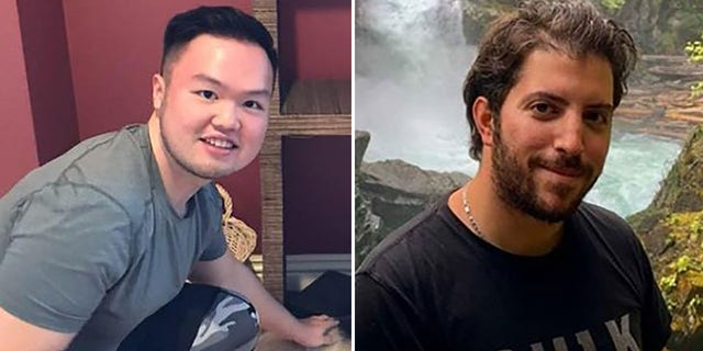 Vincent Djie, left, and Talal Sabbagh, are among three hikers to go missing last week on Mount Rainier in separate incidents.