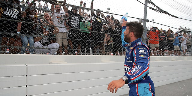 Westlake Legal Group wallace-black Bubba Wallace to noose culprit: 'You're not going to take away my smile' Gary Gastelu fox-news/us/crime/hate-crime fox-news/auto/nascar fox-news/auto/attributes/racing fox news fnc/auto fnc article 96e6540f-3dbb-5994-945a-95df56130359