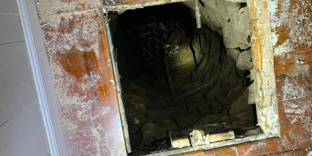Connecticut firefighters rescued a man who had fallen down a 30-foot well that was underneath a sub floor in a house built in the late 1800's.