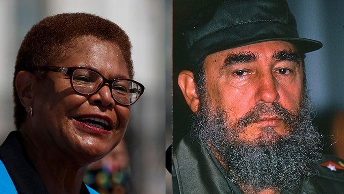 Biden VP hopeful Karen Bass slammed over past praise for Fidel Castro:  report | Fox News