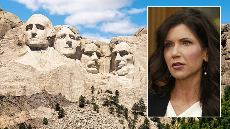 South Dakota Gov. Noem vows to protect Mt. Rushmore: We won't stand for 'radical rewriting of history'