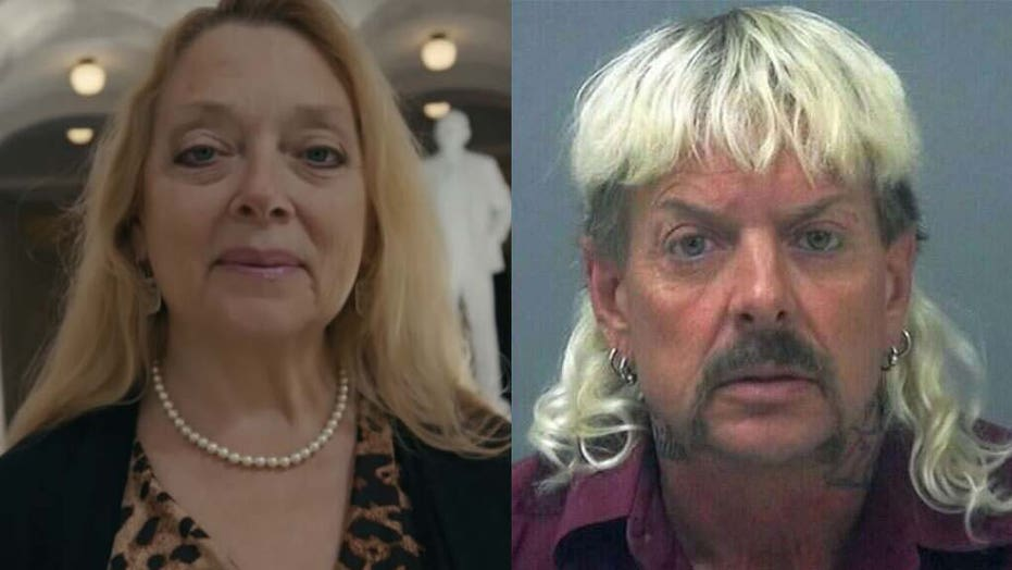 'Tiger King's Carole Baskin 'relieved' Trump failed to pardon Joe Exotic: 'He belongs behind bars'