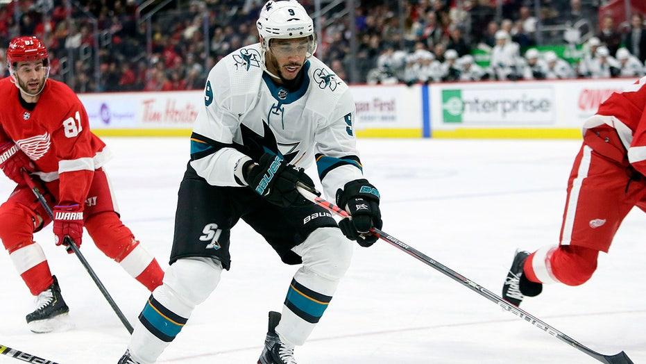 Sharks' Evander Kane files for bankruptcy with $26.8 ...