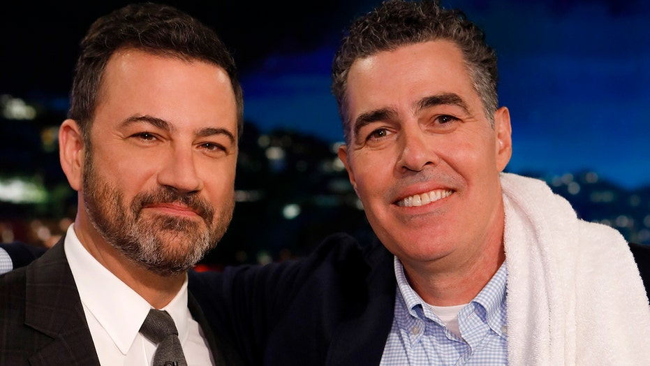 Jimmy Kimmel defended by Adam Carolla amid blackface controversy ...