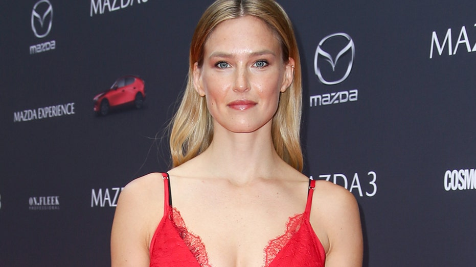 Bar Refaeli shows off abs in a bikini following tax evasion sentencing