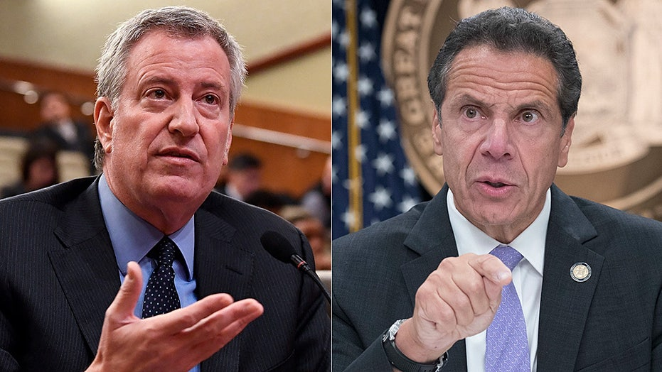 Cuomo swipes de Blasio for crime: 'We have a problem in New York City'
