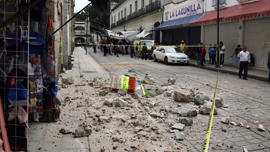 Mexico hit by magnitude 7.4 earthquake
