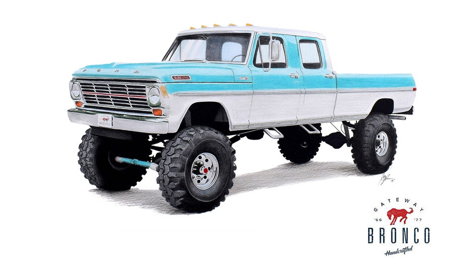 New 1969 Ford F 250 Monster Truck On Sale For 250g Fox News