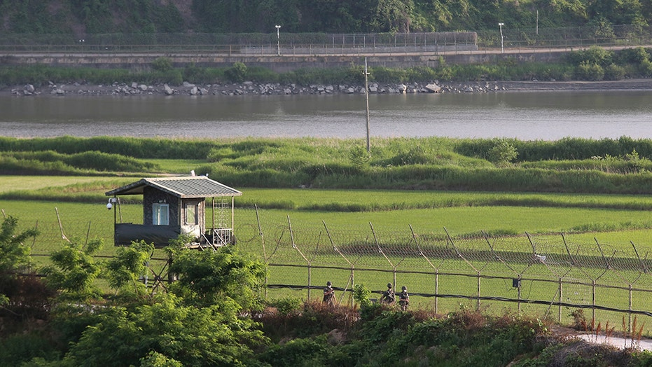North Korean defector in diving gear swims to South Korea, military says