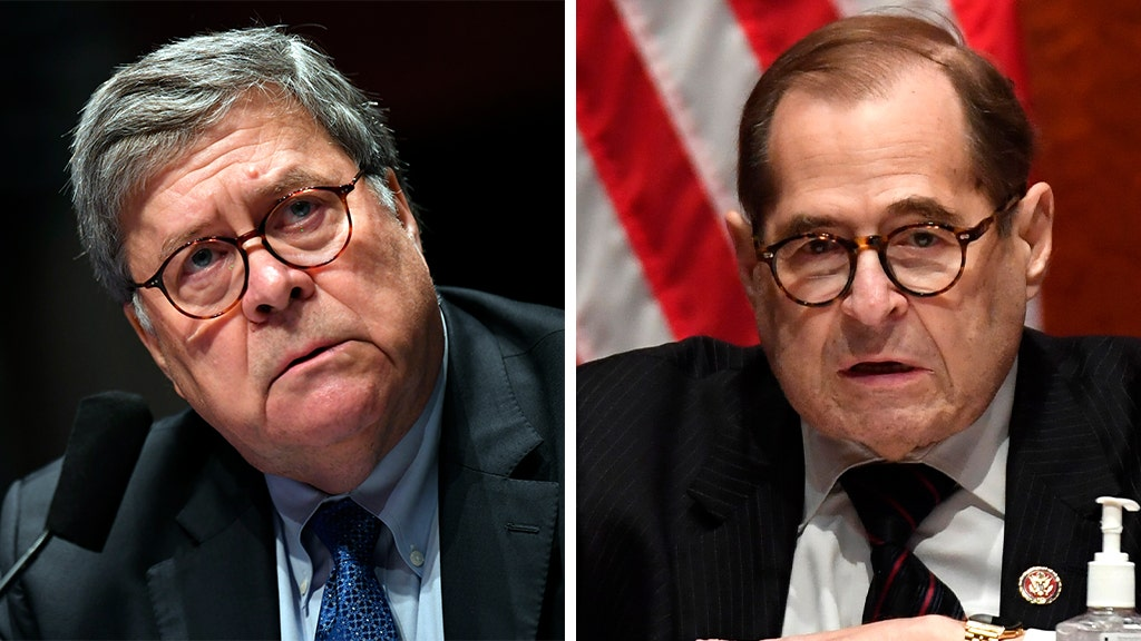 Nadler request refused by DOJ, Barr treatment cited