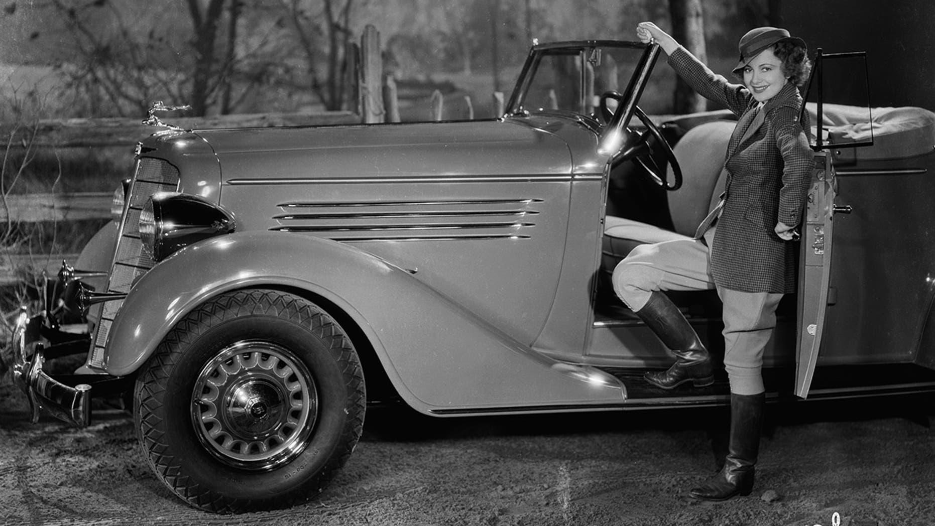 Olivia de Havilland's Buick
