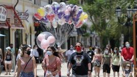 Disney World reopens despite Florida's spiraling coronavirus situation