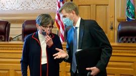 Kansas newspaper's cartoon equating governor鈥檚 mask mandate with Holocaust stirs controversy