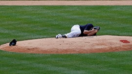 Yankees pitcher Masahiro Tanaka 'all good' after hit in head by line drive