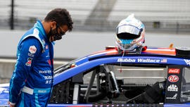 NASCAR's Bubba Wallace hits back at 'HATE' from Trump