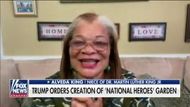 Alveda King on Trump's decision to create national garden honoring US heroes: 'I love the idea'