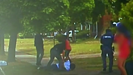 Detroit police release video of man firing at cops before officers fatally shoot him