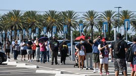 Hundreds seen lining up for Downtown Disney reopening as coronavirus cases in California spike