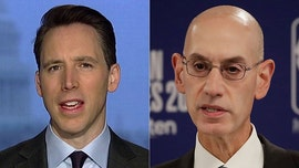 Sen. Josh Hawley scrutinizes NBA Commissioner Adam Silver over reported social justice messages on jerseys