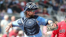 Rays catcher Kevan Smith reveals he's got weird looks for wearing mask while in Florida