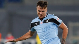 Lazio defender Patric sent off during match for biting opponent