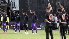 Black Players for Change lead protest at MLS is Back tourney
