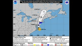Tropical Storm Fay sets sights on Northeast; landfall expected Friday
