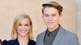 Reese Witherspoon has a hilarious reaction to her teen son's first single