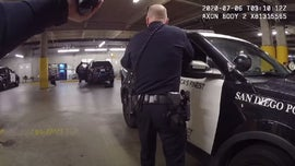 San Diego police video shows officers shooting man who slipped out of handcuffs, grabbed gun