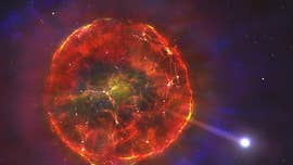Thermonuclear blast sends star hurtling across our galaxy