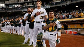 Ex-Athletics catcher Bruce Maxwell: I was pushed out of MLB for kneeling