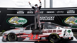 Rookie Cole Custer wins Kentucky NASCAR Cup Series race