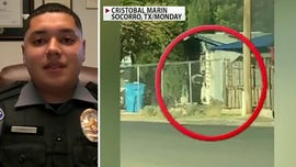 Hero Texas officer saves 8-year-old from burning home: 'I had to take quick actions'