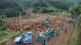 Japan floods leave up to 34 dead, many at nursing homes