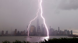 NYC sees stunning lightning from thunderstorms, flash floods in Northeast amid stormy week