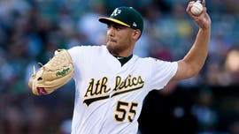 Oakland A's Sean Manaea on wearing a mask this season: 'find a way to rock it'