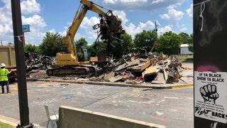 Atlanta Wendy's where Rayshard Brooks was killed gets demolished: report