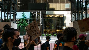 NYC closes 5th Avenue ahead of Black Lives Matter painting in front of Trump Tower