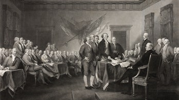 Thomas Jefferson's original Declaration of Independence rough draft: See the pictures