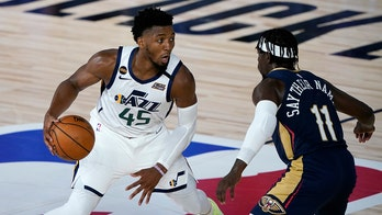 Jazz's Donovan Mitchell shares bulletproof vest with police brutality victims' names stitched in